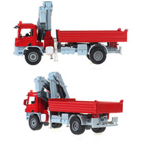 KAIDIWEI 100% Original Alloy Car toy 1:50 Scale Emulation Die cast metal +ABS Truck with crane model car toys Free Shipping(China)