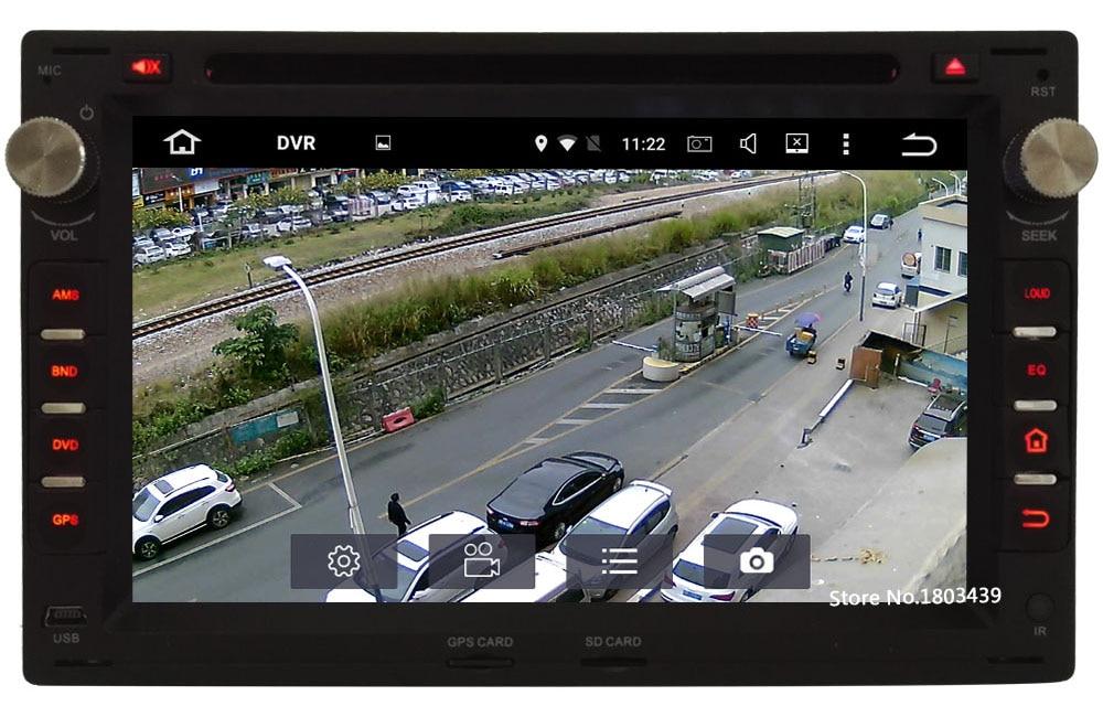 Octa Core 2GB RAM Android 6.0 Car DVD Player For VW Bora Polo Jetta Golf Seat Leon Ibiza Peugeot 307 Ford Galaxy Skoda Octavia