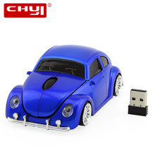 Xmas Gift 3D USB Optical Gaming Mouse Car VW Beetle Shape Cord Mouse Gamer Wireless Mouse Bug Beatles for PC Computer Mice Mause