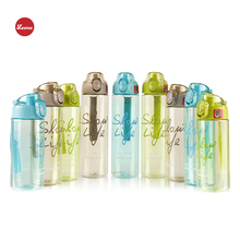 500ml/600ml/700ml hot selling Transparent Fashion Portable Sports water bottle Outdoor School  tea coffee my plastic bottle