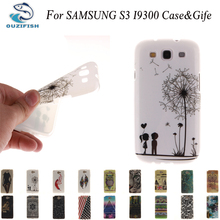 OUZIFISH Painted Pattern TPU Silicone Soft For Samsung Galaxy S3 Case For Samsung Galaxy S3 I9300 Cell Phone Back Cover Case