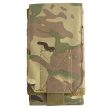 Outdoor Sport Military Tactical Hunting Molle 5.5 inch Phone Pouch for Iphone 6 plus Nylon Cell Phone Belt Holster