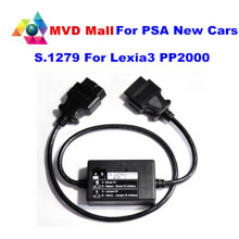 Best Quality S.1279 Module OBDII Interface For Lexia3 PP2000 S1279 Cable Do New Cars For Lexia 3 Diagnostic Tool Free Shipping