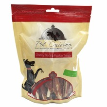 250g/Bag Pet Cuisine Pet Dog Health Meat Treats Puppy Chewy, Duck Jerky & Pigskin Sticks(China)