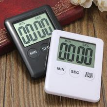 0-99 Minutes Large LCD Kitchen Cooking Timer Count-Down Up Clock Loud Alarm White Black(China)