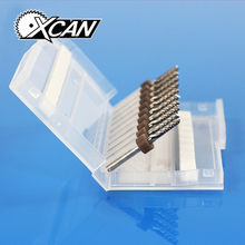 10pcs 3.0mm PCB Carbide Tools, CNC Cutting Bits, Millinging Cutters Kit for Engraving Milling Machine