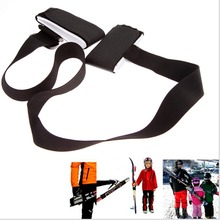 High Quality Durable Snowboard Bag Nounting Ski Pole Shoulder Hand Carrier Lash Handle Straps Porter Adjustable