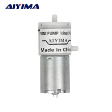 AIYIMA 1pcs DC 12V Micro Vacuum Pump Electric Pumps Mini Air Pump Pumping Booster For Medical Treatment Instrument
