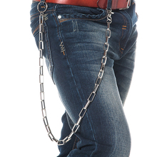 New Fashion Pants Chain Punk Personality Skull Belt Waist Chain Male Pants Chain Jeans Metal Clothing Accessories