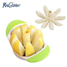 High Quality Stainless Steel Apple Cutters Multi-function Fruit Vegetable Slicers Seed Remover Apple Cut Tools(China)