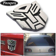 Pinsupera 3D Logo Protector Autobot  Emblem Badge Graphics Decal Car Sticker (Autobot)