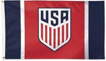 USA Soccer flag MLS 3X5FT Banner 100D Polyester free shipping(China)