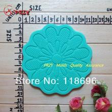 New 100% food grade raw material Lace Mould for Cake Decoration Instant Lace Mold fondant cake mold No.f22(China)