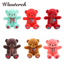 2017 New Beanie Boo Ty Lovely Teddy Bear Plush Toys Stuffed Doll Kids' Birthday For Kids Babys Children Gift Toy Stuffing WW89