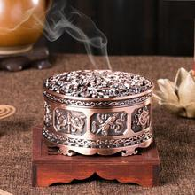 1pc exquisite incense burner unique Alloy Buddhism Burners Craft gift Home Decoration accessories A35
