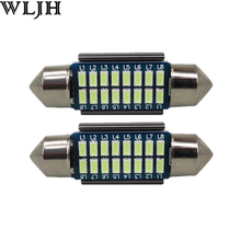 WLJH 2pcs CANbus LED 36mm C5W Lamp Bulb Registration Number Plate License Light For Benz W169 W203 W208 W209 W210 W211 W212(China)