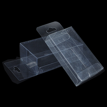 100Pcs/lot Plastic Clear PVC Box Packaging Wedding Party Favor Small Gift Craft Storage Box Transparent Candy Jewelry Pvc Box(China)