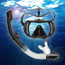 Lixada Underwater Diving Mask Snorkel Set Swimming Training Scuba Full Dry Snorkel Tube Snorkeling Mask Anti Fog For Adults(China)