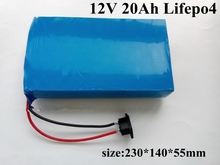 Lifepo4 20A 12V battery pack without BMS for Solar LED lighting Ultrasonic solar panel 12v frigde golf car scotter electric tool(China)