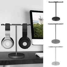 Buy Vococal Double Headphone Stand Mount Rack Headset Holder Earphone Bracket Hanger for $22.92 in AliExpress store