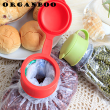 Multifunction fresh lid sealing tools kitchen accessories magic sealer plastic bag sealer organizador gadget food bag clips(China)