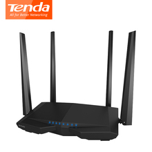 Wireless Wifi Router Tenda AC6 WI-FI Repeater 802.11AC 1200Mbps Dual Band VPN English Firmware WDS WPS Extender PPPoE, L2TP, WIS(China)
