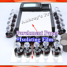 10 Sheets A4 Parchment Paper and Isolating Film for Photosensitive Portrait Flash Stamp Machine Kit Selfinking Stamping Making(China)