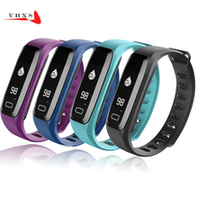 Buy Smart Band Heart Rate Blood Pressure Watch IP67 Waterproof Sports Bracelet Smart Wristband Fitness Tracker PK Fitbits Mi Band for $18.19 in AliExpress store