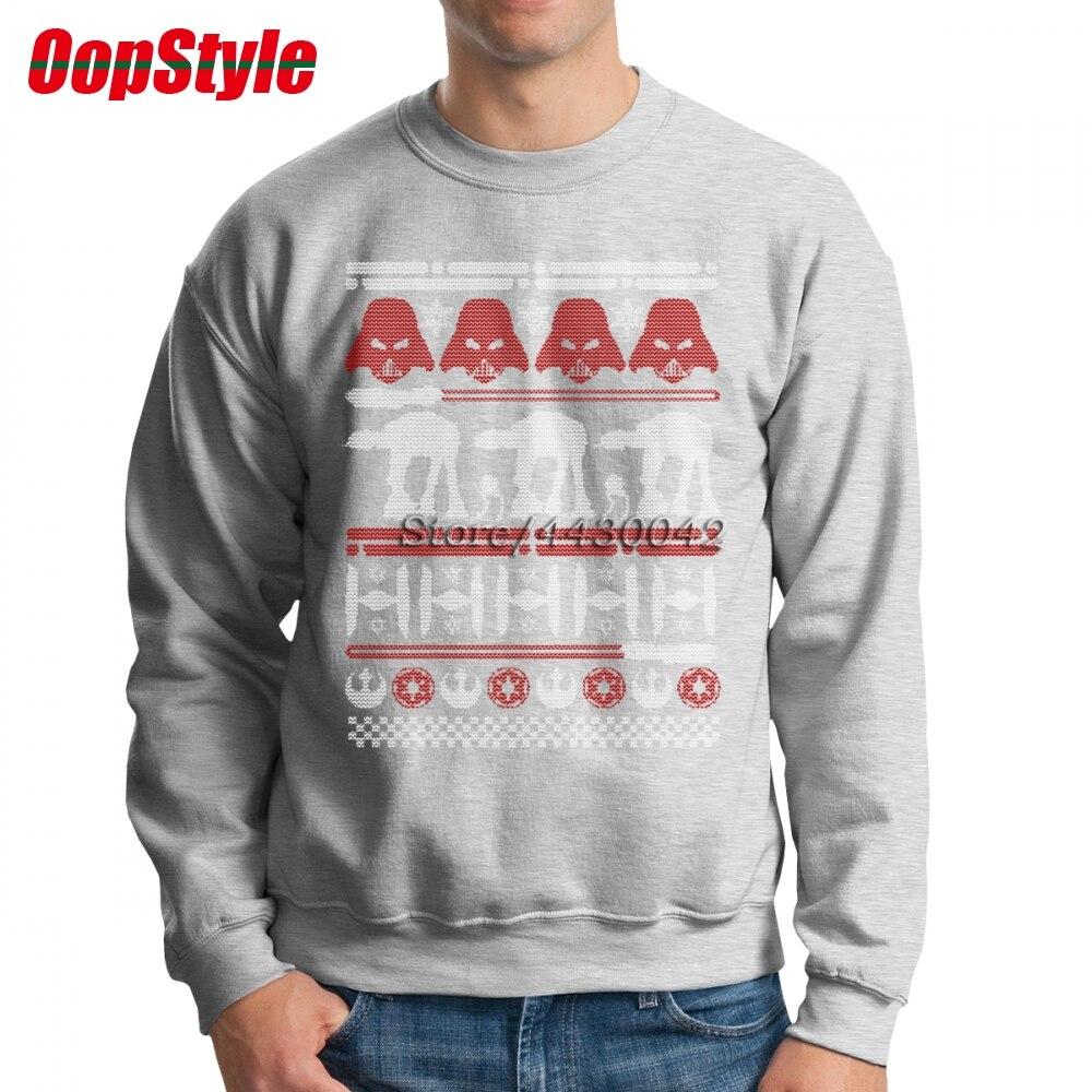 Star Wars Ugly Christmas Sweater Pattern Men Hoodie Sweatshirt Long ...