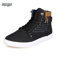 Metal Buckle Fashion Shoes Men High Top Sneakers Casual Shoes Mens Hip Hop Shoes Suede Male Shoes Adult Tenis Zapatillas Tufli