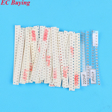 620pcs Capacitor Assorted kit 31values*20pcs 0805 SMD Capacitors 1PF ~ 1UF(China)