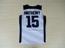 cheap 15 Carmelo Anthony 2012 Dream Team USA London Games basketball Jerseys Throwback Stitched(China)