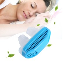 1pc Portable Sleeping Aid Anti-Snoring Stop Nose Grinding Air Clean Filter Air Purifying Apparatus Health Care