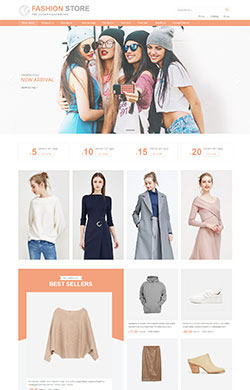 【维麦设计】清新简约女装服饰鞋帽箱包行业通用M95