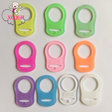 5Pcs Silicone Adapter for MAM Pacifiers Rings Baby Mam Pacifiers Ring/Dummy Clips Adapter Color Can Be Selected