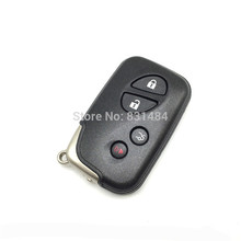 4 Buttons Remote Smart Car Key Case Cover Shell For Lexus(China)