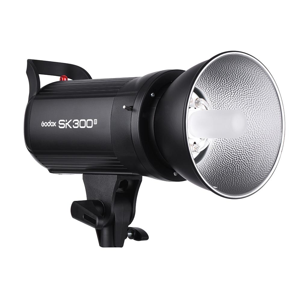 Godox SK300II Studio Flash With 2.4G Wireless X system+Bowen mount standard cover Gift (13)