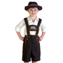 new arrival children boy halloween costume beer festival oktoberfest suits england style cosplay clothing