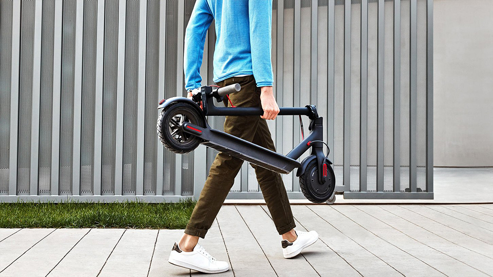 Original Xiaomi Scooter Mijia 2 Wheels Smart Electric Scooter Skate Board Adult Mini Foldable Bike Hoverboard 30km with APP 17
