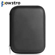 POWSTRO 2.5 Inch HDD Bag Case Storage Box Shockproof Extend Hard Disk Drive Protect Bags Power Bank Battery Earphone Case