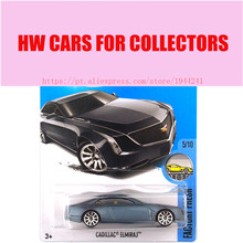 New Arrivals 2017 Hot Wheels black Cadillac ELMIRAJ Metal Diecast Cars Collection Kids Toys Vehicle For Children Models