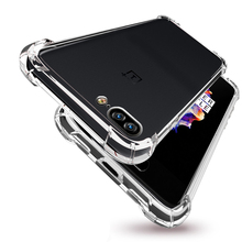 For Oneplus 3 5 Military Protection Air Cushion Silicone TPU Case Ultra Slim Crystal Clear Soft Shockproof Armor Phone Cover