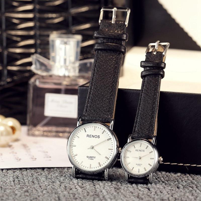 RENOS Women Quartz Watch Fashion &amp; Casual Dress Lovers Couple Watches Men Wristwatch Sports Wrist Watch Water Resistant relogio<br><br>Aliexpress