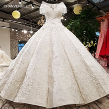 Buy LS41096 2018 real picture show white color special satin short tassel sleeves white two layers back skirt wedding dress for $680.33 in AliExpress store