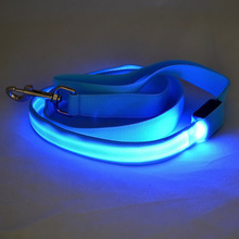 Pet Cats Dogs LED Leash Safety Glow Flashing Lighting Up Dog Leash Pets Accessories J2Y