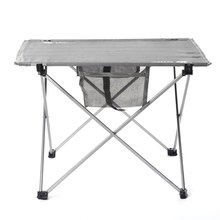 Convenient Folding Table Camping Table Set Outdoor Oxford Fabric Ultralight Table Stools Chairs For Camping Hiking BBQ
