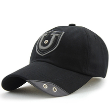 High Quality Men Women Embroidery Baseball Cap Rivet Printed Sports Events Team Berets Hat(China)