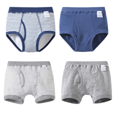 4 Pcs/Lot Kids Boys Briefs and Boxers Set Soft Organic Cotton Children's Boxer Shorts Panties Kid Boy Underwear Baby Clothes(China)
