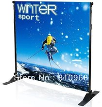 Telescopic backdrop stands, Jumbo banner stands, adjustable size background display stand(China)