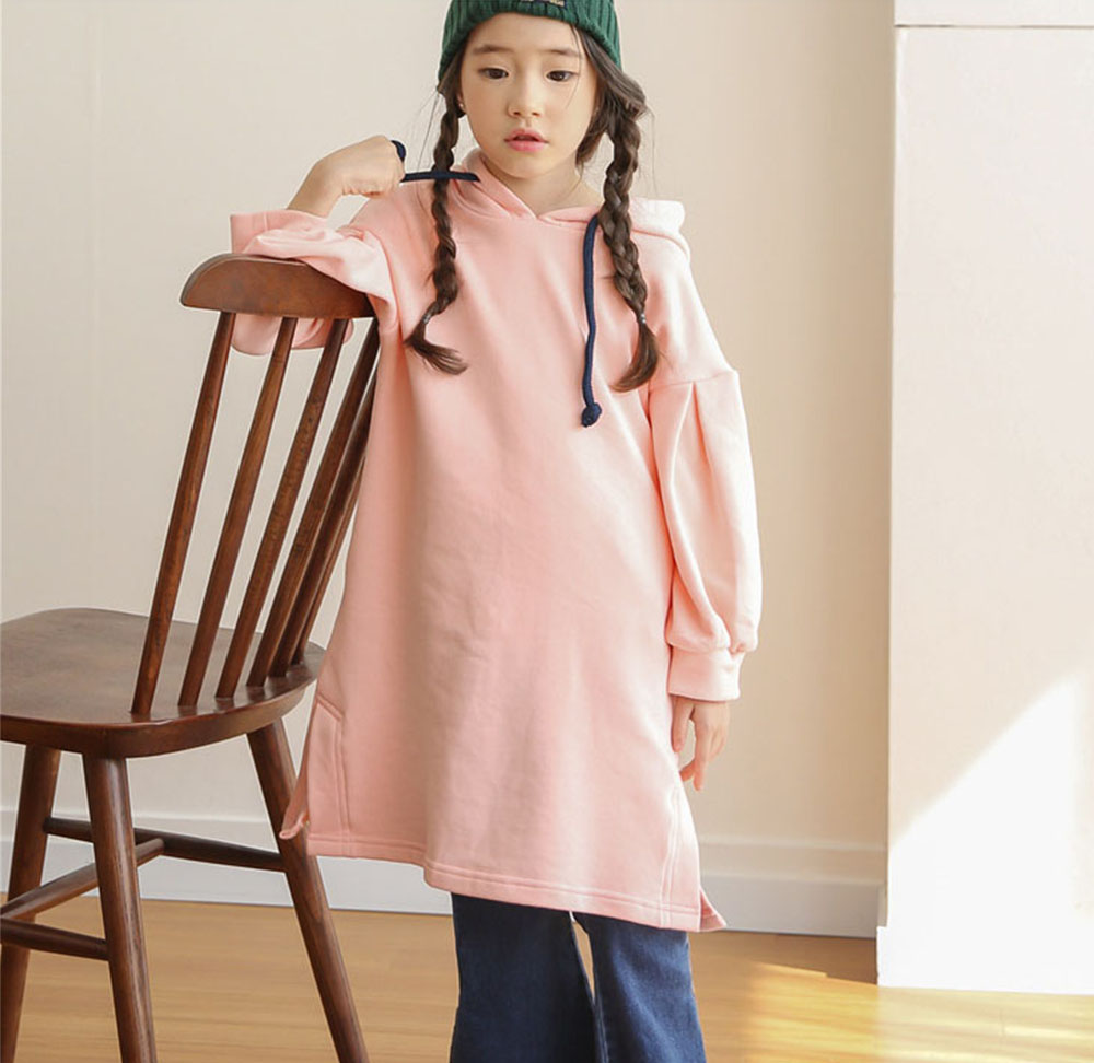 hooded princess girls dresses winter long sleeve teenage girl dress spring children clothes autumn sweatshirts kids costume<br>